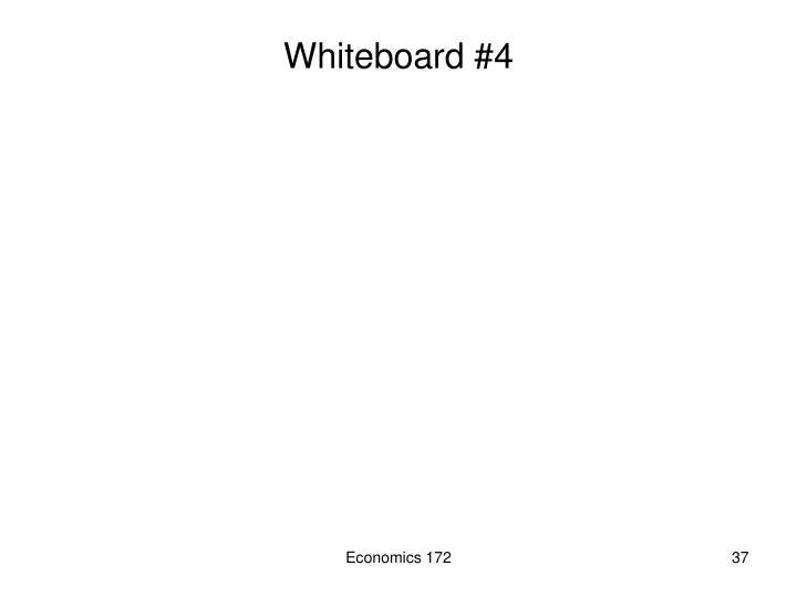 Whiteboard #4