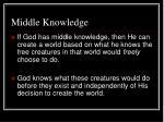 middle knowledge1