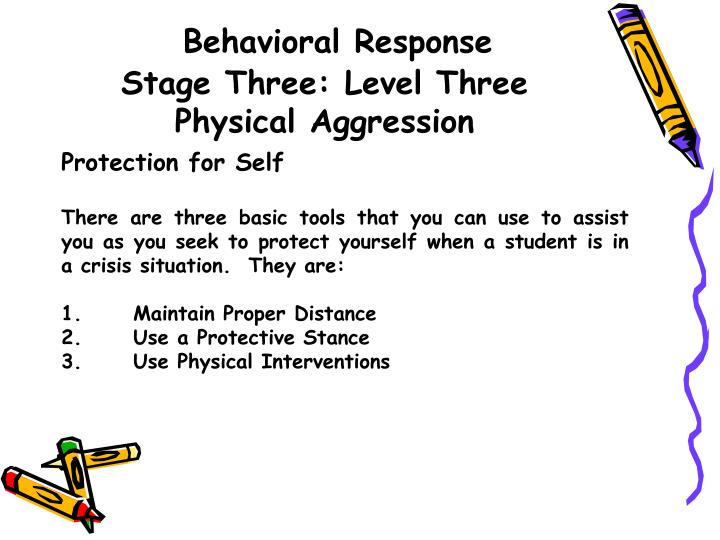 Behavioral Response