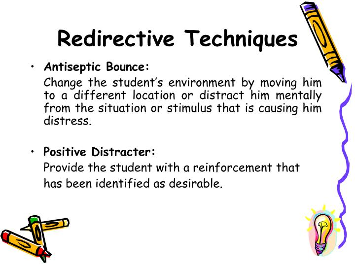Redirective Techniques