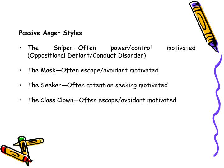 Passive Anger Styles