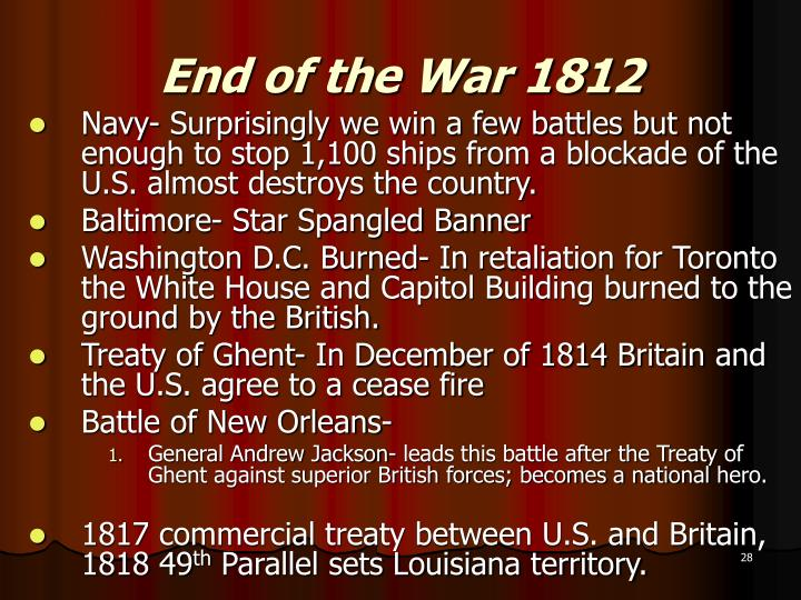andrew jackson hero of the war of 1812 essay The war of 1812 essays  major general andrew jackson as the treaty of ghent was signed in december 1814, news of this came to the american and ritish forces.
