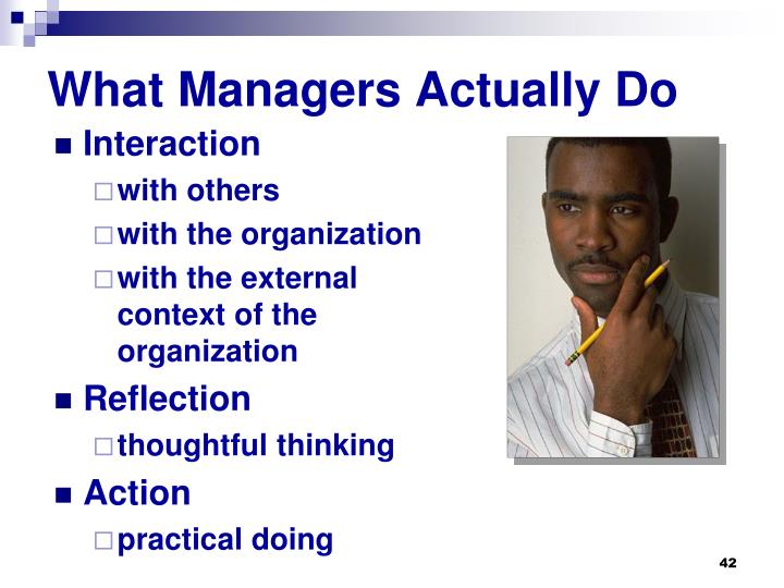 What Managers Actually Do