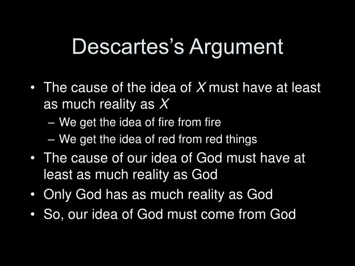 Descartes's Argument