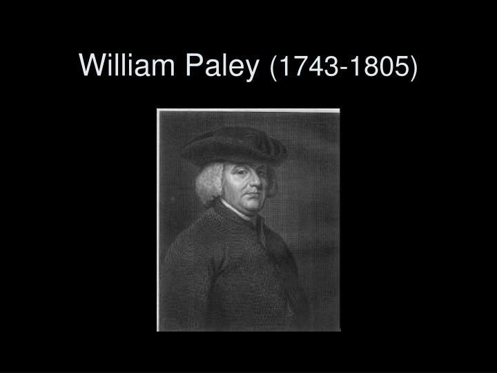 William Paley