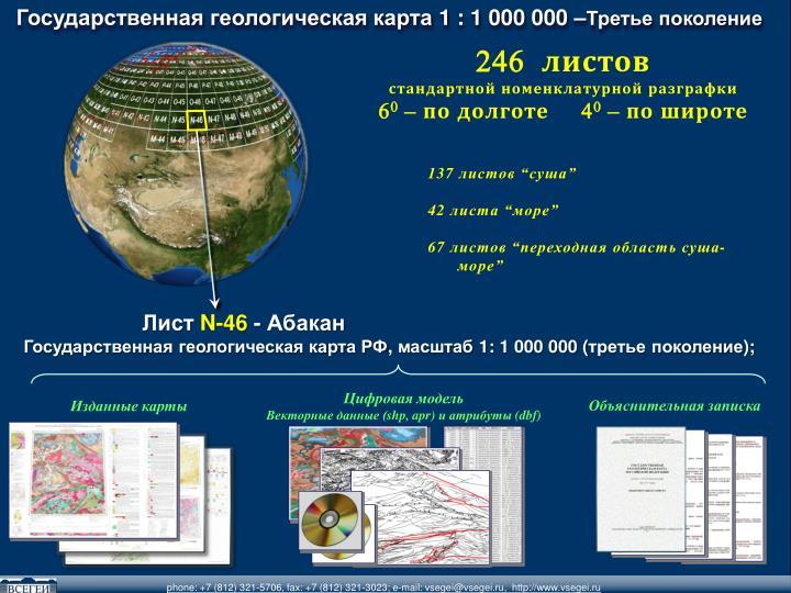Государственная геологическая карта