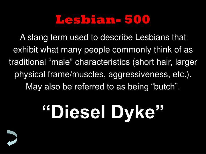 Lesbian- 500