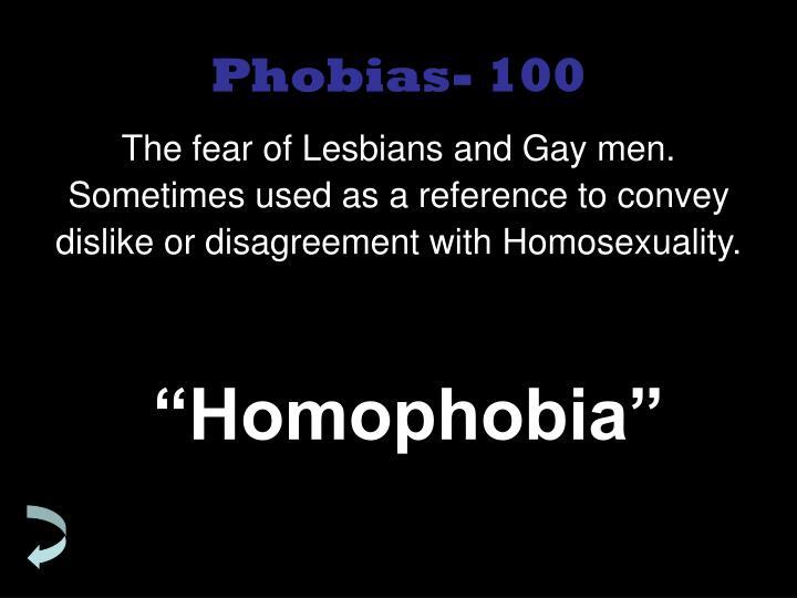 Phobias- 100