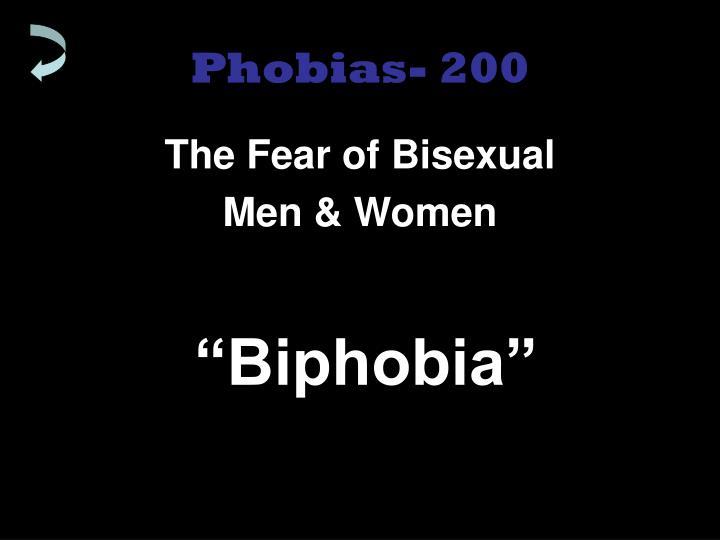 Phobias- 200