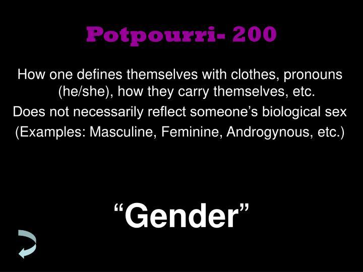 Potpourri- 200