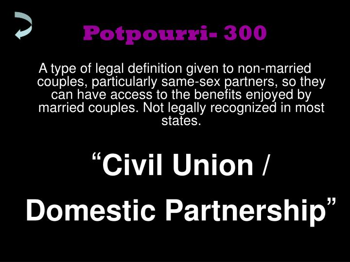 Potpourri- 300
