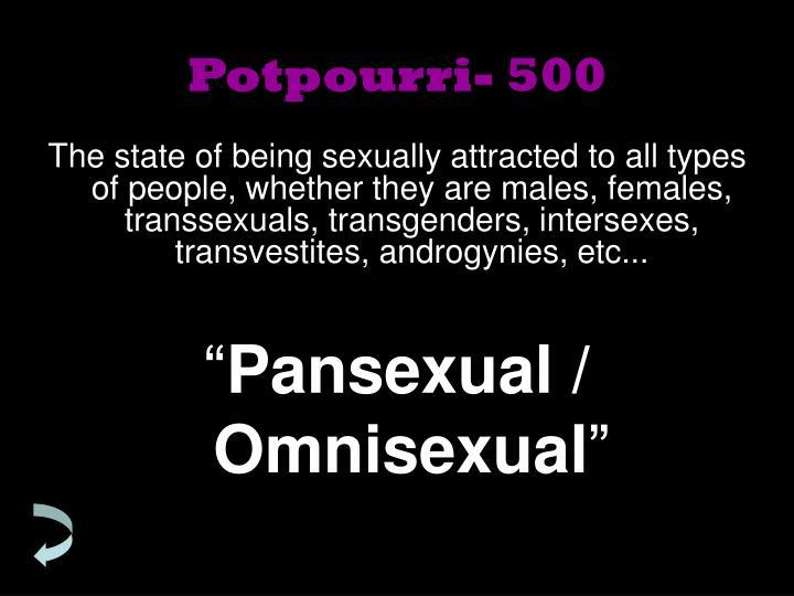 Potpourri- 500