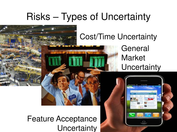 Risks – Types of Uncertainty