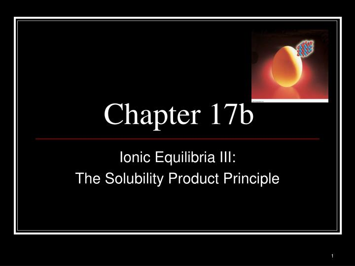 Chapter 17b