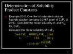 determination of solubility product constants3