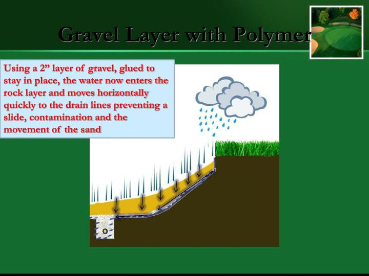 Gravel Layer with Polymer