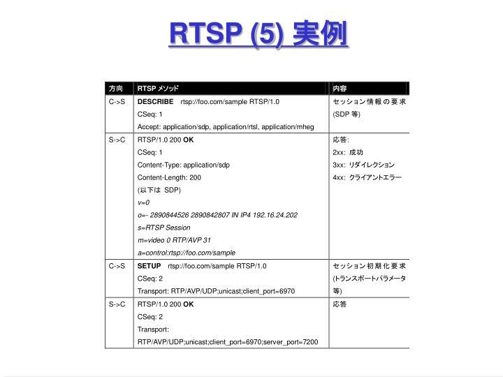 RTSP (5)