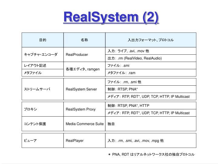 RealSystem (2)