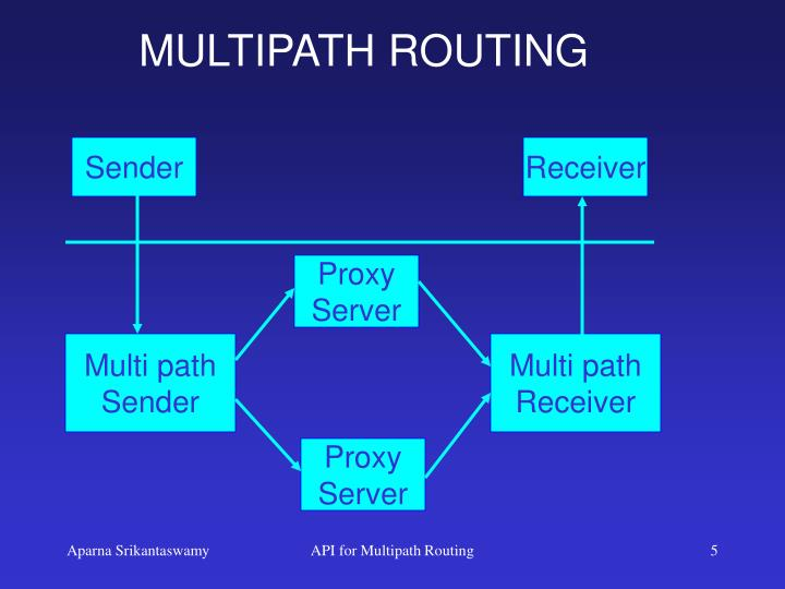 MULTIPATH ROUTING