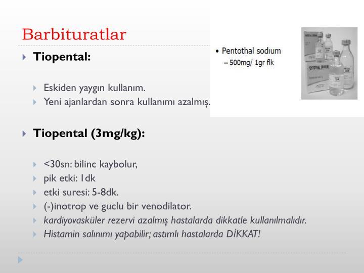 Barbituratlar
