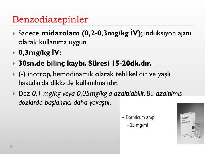 Benzodiazepinler