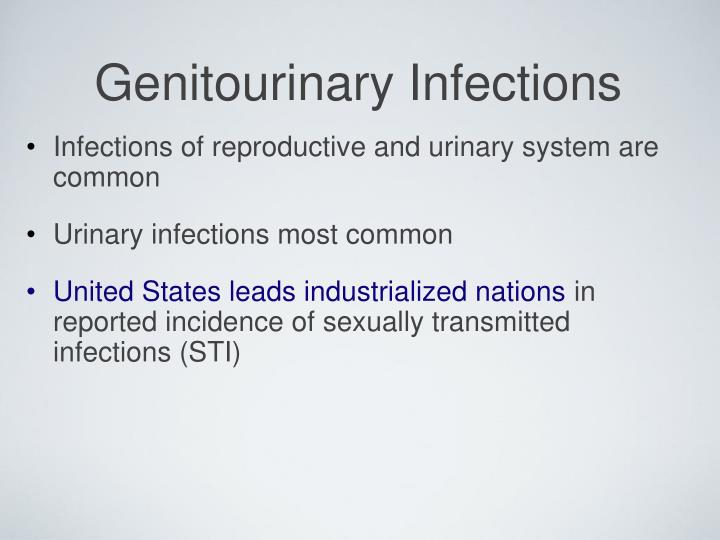 Genitourinary infections1