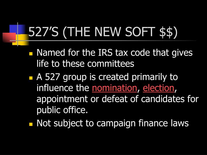 527'S (THE NEW SOFT $$)