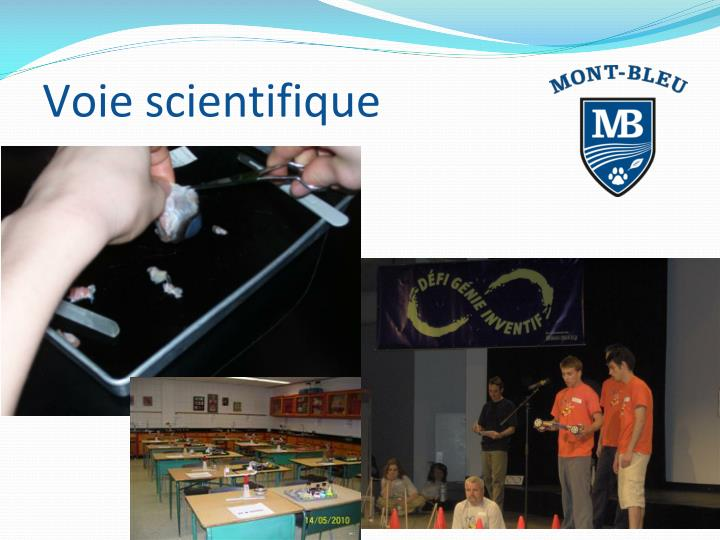 Voie scientifique