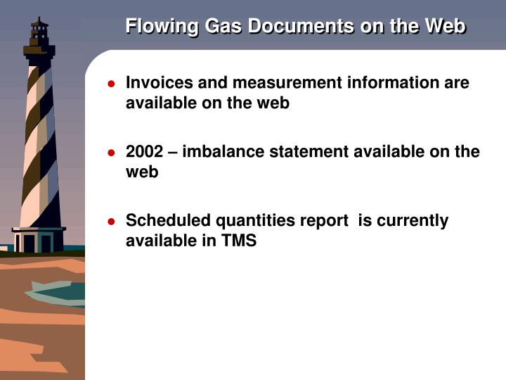 Flowing gas documents on the web