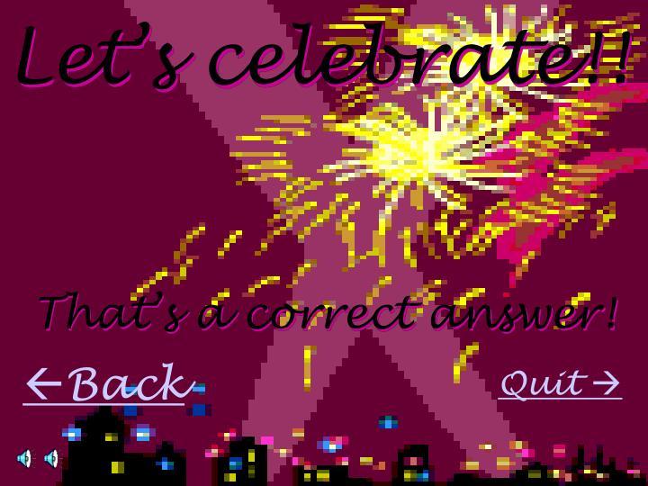 Let's celebrate!!
