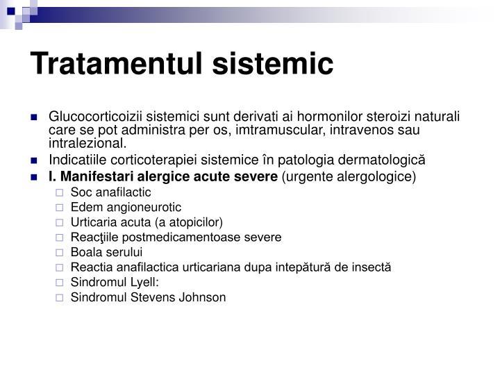 Tratamentul sistemic