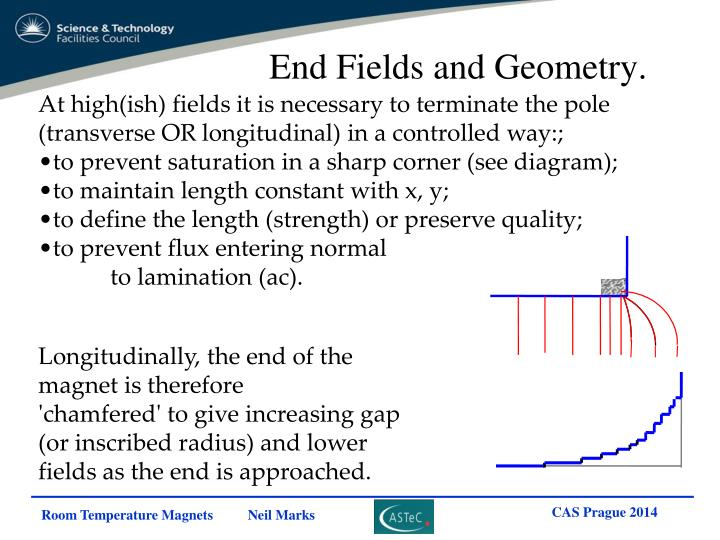 End Fields and Geometry.