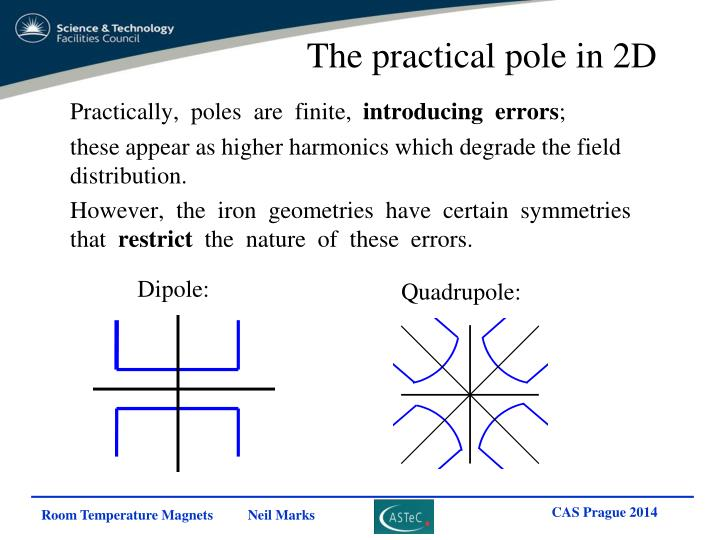 The practical pole in 2D