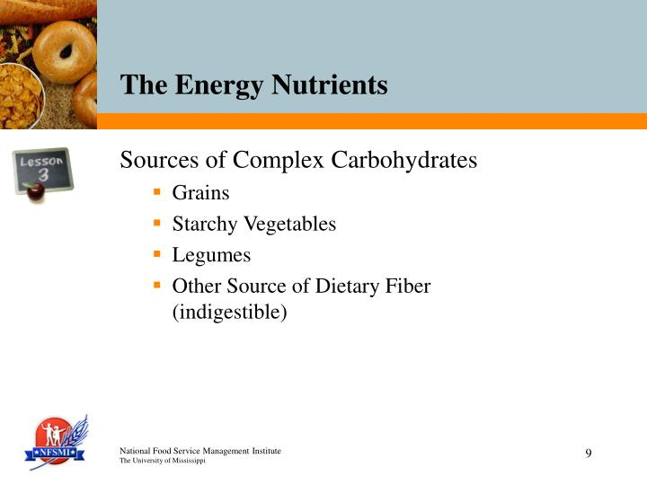 Sources of Complex Carbohydrates