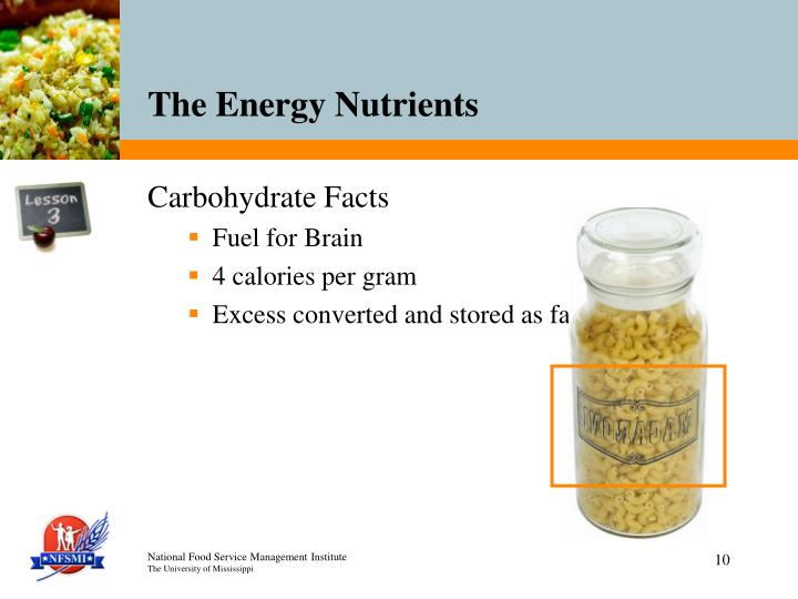 Carbohydrate Facts