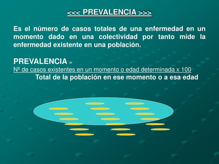 <<< PREVALENCIA >>>
