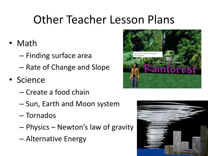 Other Teacher Lesson Plans