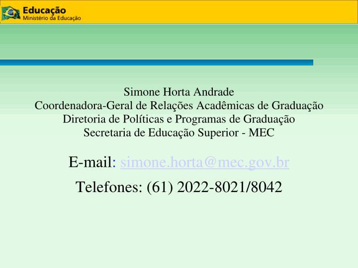 Simone Horta Andrade