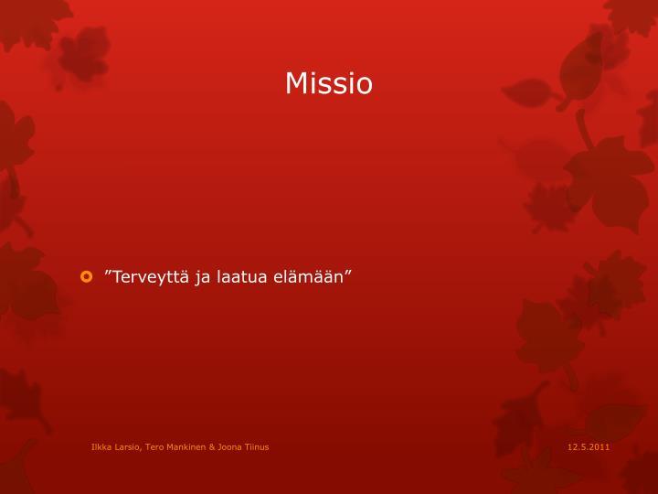 Missio