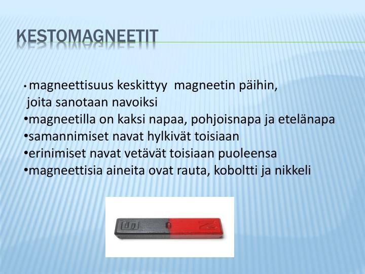 Kestomagneetit