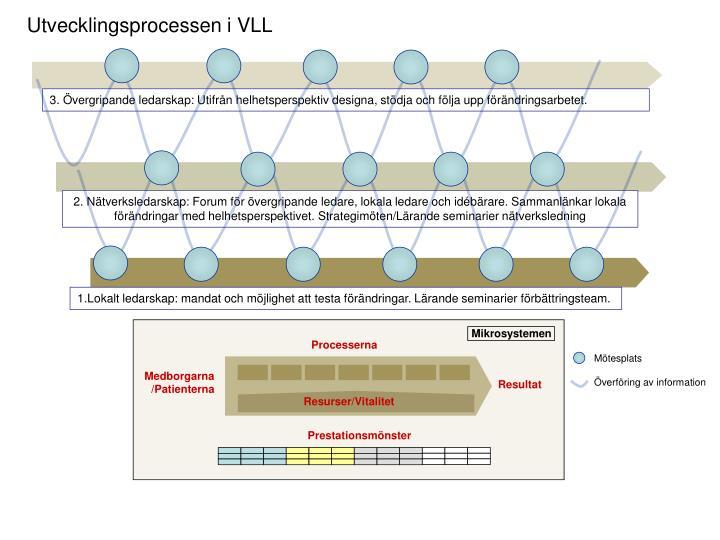 Utvecklingsprocessen i VLL