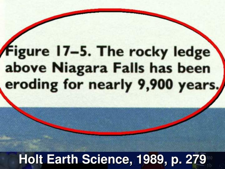 Holt Earth Science, 1989, p. 279