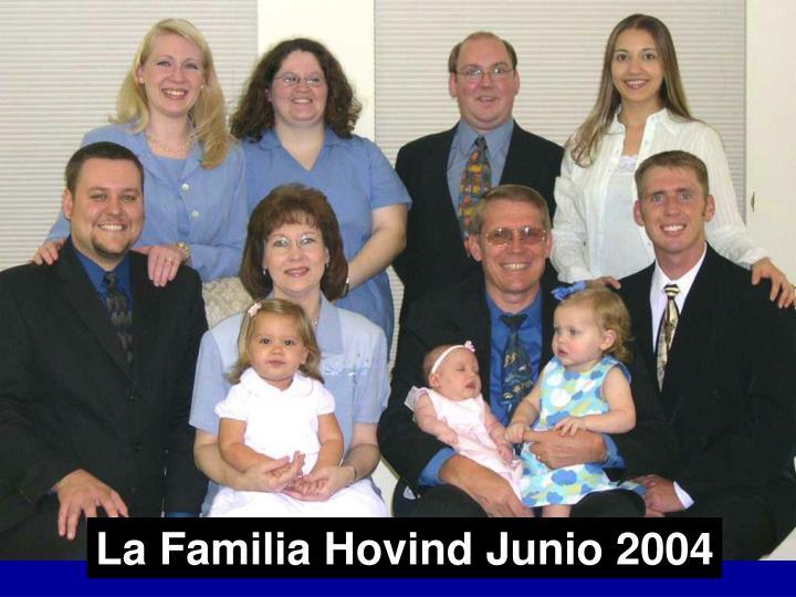 La Familia Hovind Junio 2004