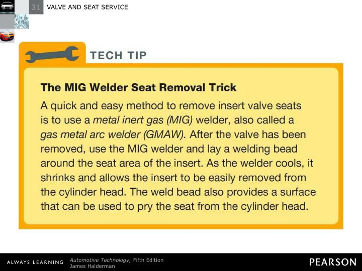 TECH TIP: The MIG Welder Seat Removal Trick