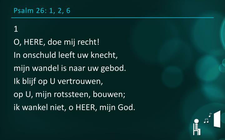 Psalm 26: