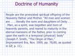 doctrine of humanity
