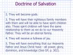 doctrine of salvation1