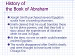 history of the book of abraham