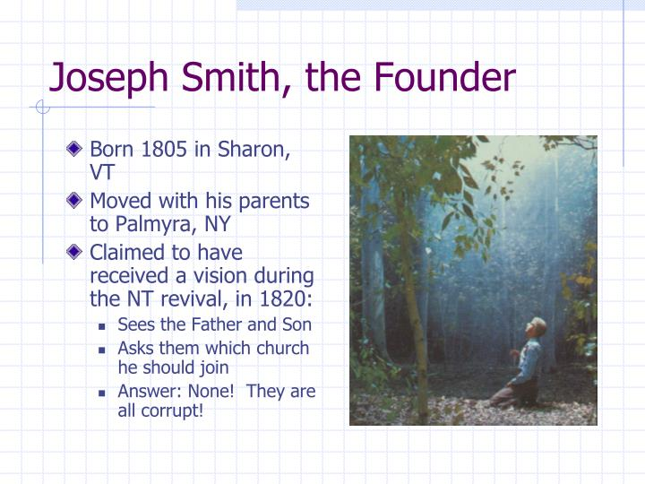 Joseph Smith, the Founder
