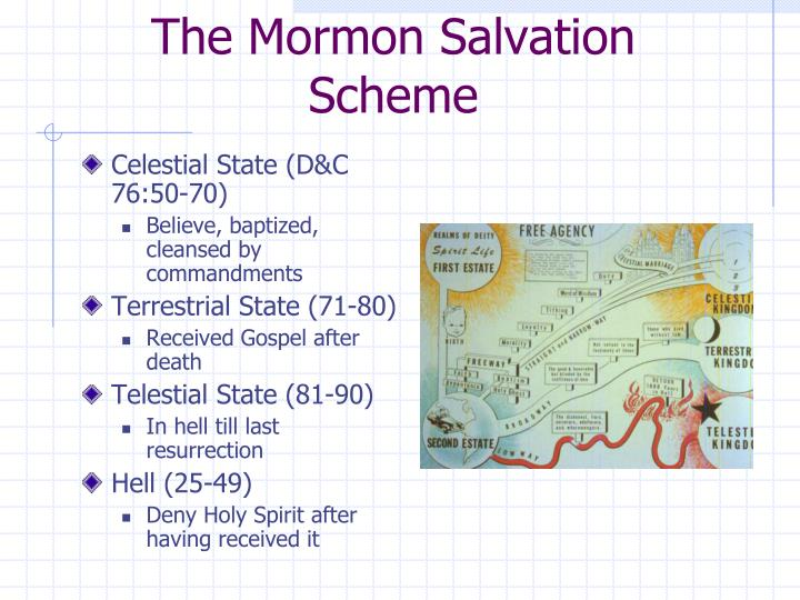 The Mormon Salvation Scheme